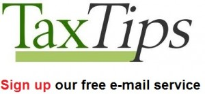 Tax Tips - Free em-mail service provided by Claudia Ku CPA, CA